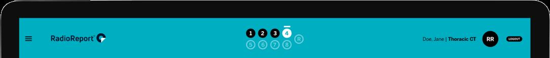 RadioReport layout header