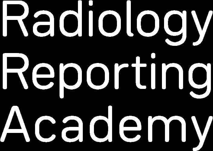 Radiology Reporting Academy Webinar